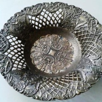 Metal Reticulated Bowl