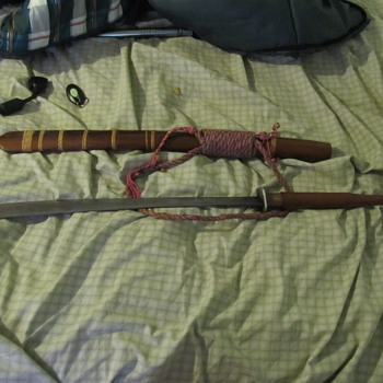 My antique Thai ceremonial sword  - Military and Wartime