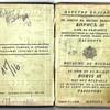 1939 Bulgarian passport used by Jewish rescuer