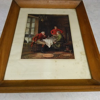 ANTIQUE PRINT - Fine Art