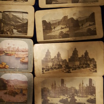 Antique Stereo viewcards - Photographs