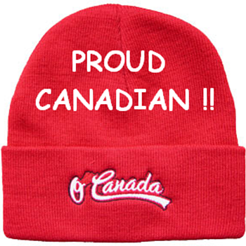 My Canadian Toque (aka Touque) - HAPPY CANADA DAY!! - Hats