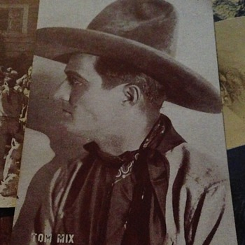 Tom Mix Cards