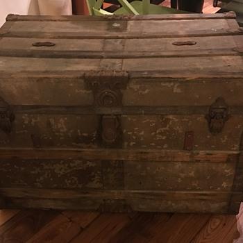 Steamer Trunk- new find!  - Furniture