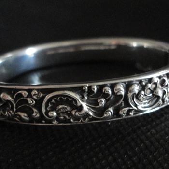 Georg Adam Scheid Baroque Silver Bracelet, Vienna c. 1890