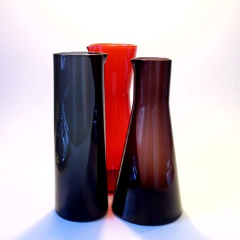 Klaus Breit Jugs for Wiesenthalhütte 3001, 3002, and 3003 - Art Glass