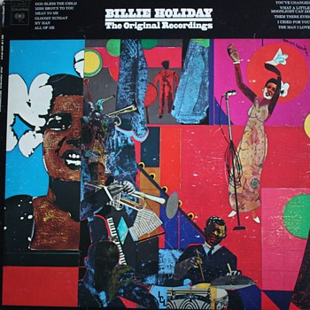"""Billie Holiday: The Original Recordings"" LP - Records"