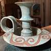 Wheel-thrown Candlestick - Studio Art Pottery