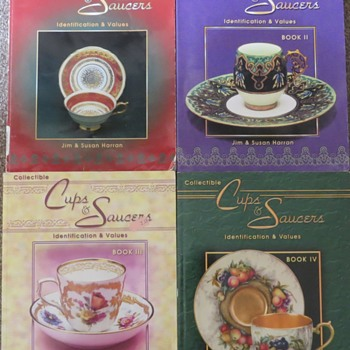 Books on Cups and Saucers - Books
