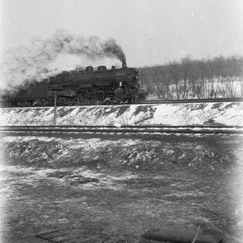 Train photos 1929