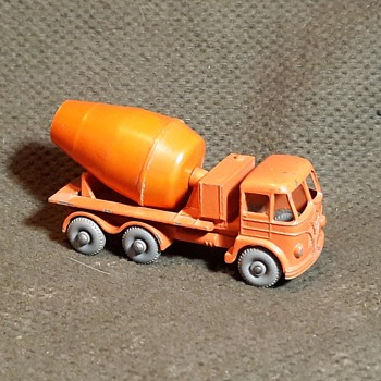 Modest Mostly Modern Matchbox Monday MB-26  Foden Concrete Truck With Grey or Gray Wheels - Model Cars