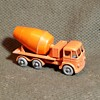 Modest Mostly Modern Matchbox Monday MB-26  Foden Concrete Truck With Grey or Gray Wheels