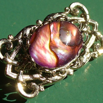 Mystic Topaz Pin - Costume Jewelry
