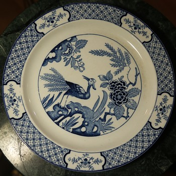 Three 'Yuan' Plates by Wood & Sons, England - Pottery