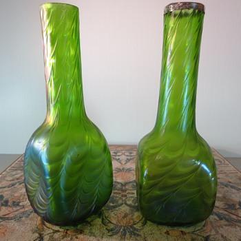 Kralik Drape Vase - Art Glass