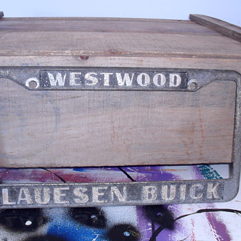 Westwood Lauesen Buick plate. - Classic Cars