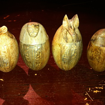 Mini canopic jars