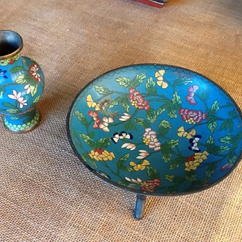 Ming Dynasty cloisonne? Can anyone help me? - Asian