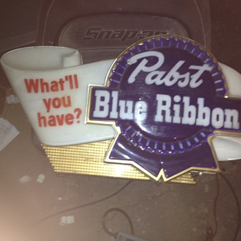 Pabst Beer Signs - Breweriana