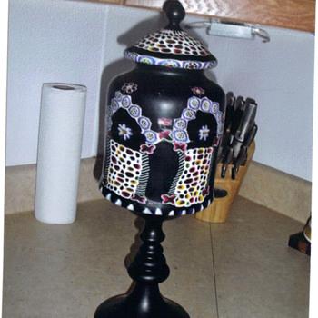 Antique Black Lamp - Lamps