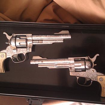 Vintage Nichols Stallion 41/40 Cap Guns - Toys