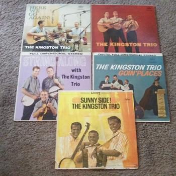 THE KINGSTON TRIO - Records