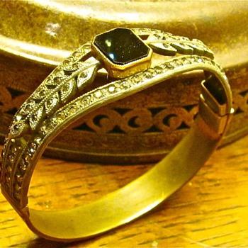 Allco brass cuff bracelet