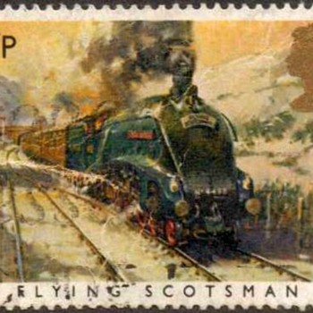 "1985 - Britain ""Flying Scotsman"" Postage Stamp - Stamps"