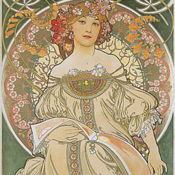 Alphonse Mucha prints - Art Nouveau