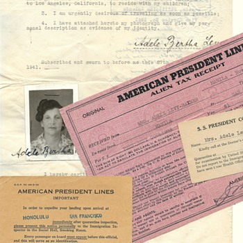 1941 emergency US passport