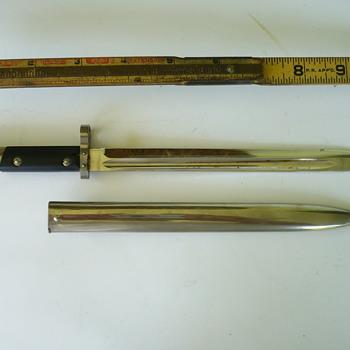 miniature bayonet