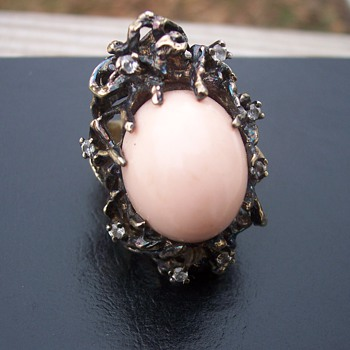 Wierd odd stunning silver ring