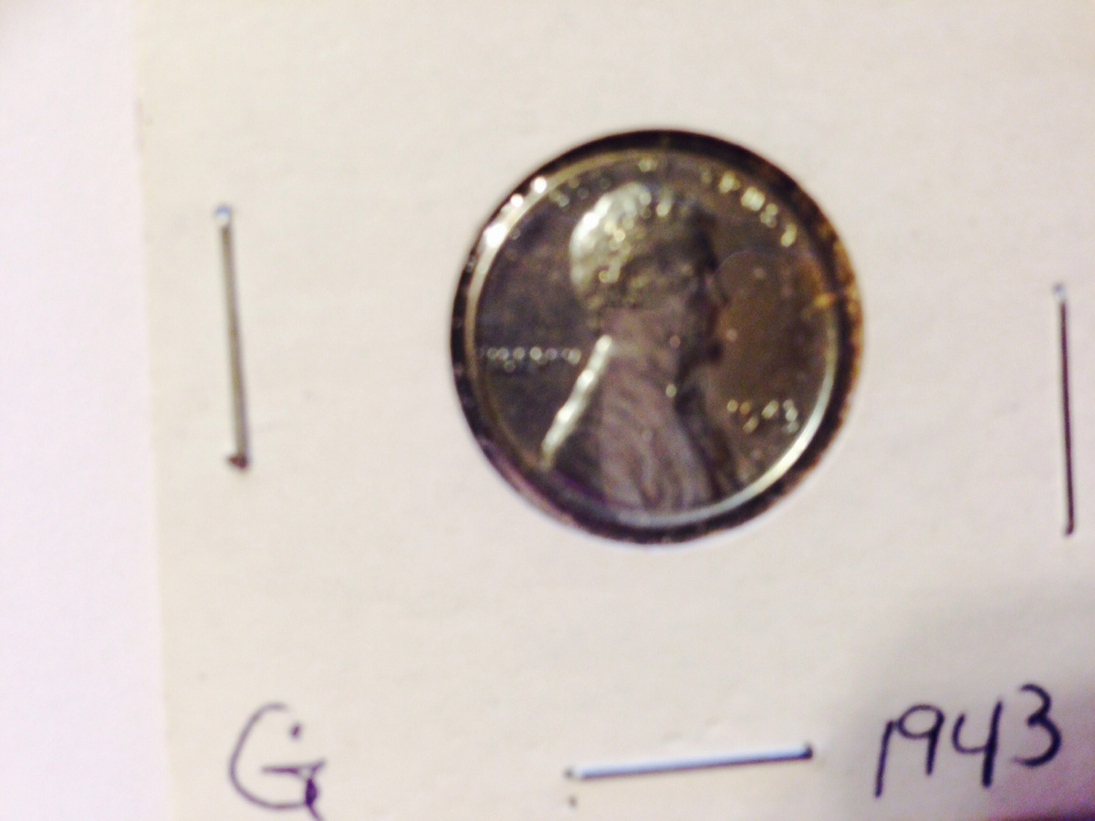 Some of our 1943/1944 pennies Is it called a zinc penny the