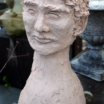 Another Head Planter - this one handmade