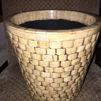 Ivory Basket Bone Inlay - Furniture