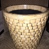 Ivory Basket Bone Inlay