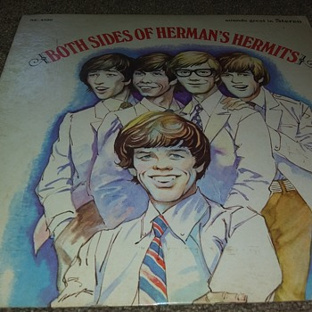 Hermans Hermits...On 33 1/3 RPM Vinyl - Records