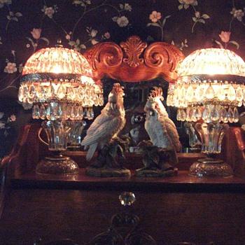 Pretty Boudoir Lamps  - Lamps