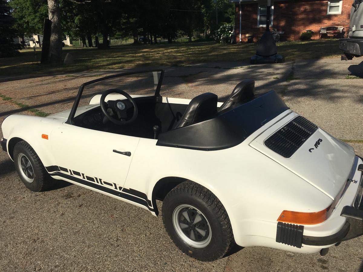 porsche 911 mini go kart 1980 collectors weekly. Black Bedroom Furniture Sets. Home Design Ideas