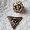 Hand Made Ring & Brooch Pin