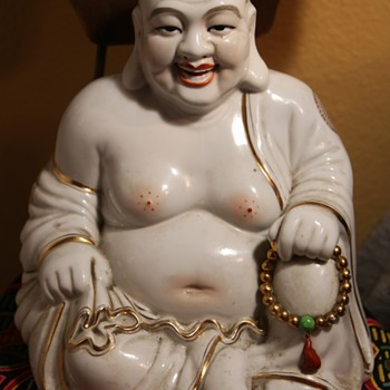 Large Porcelain Buddha