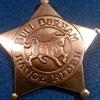 Bull Durham Range Rider Badge