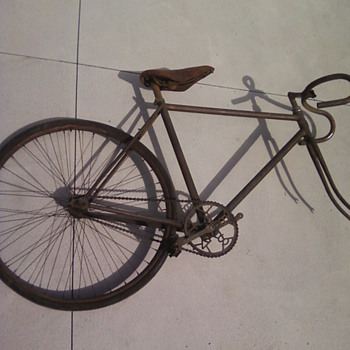 What bike is this??? Contacted a bike museum and they aren't sure! - Sporting Goods