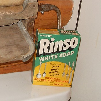 Rinso Soap Unopened Box Circa 1940 - Advertising