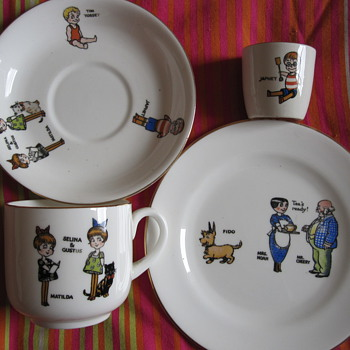 Japhet and Tim Tossett children's tea set  - China and Dinnerware