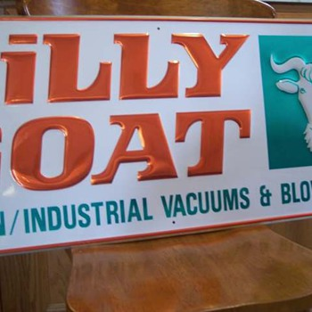 Billy Goat Lawn & Garden Sign - Signs