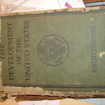 The development of the united states - Wilson Porter Shortridge - Books