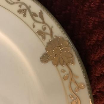 Nippon China luncheon plate