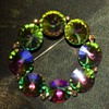 Rainbow Rivoli Pin