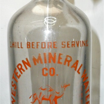 Western Mineral Water Co. - Bottles
